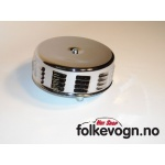 Krom luftfilter m/louvers